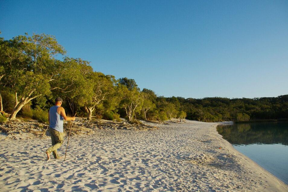 Normalerweise ist Fraser Island ein Naturparadies.