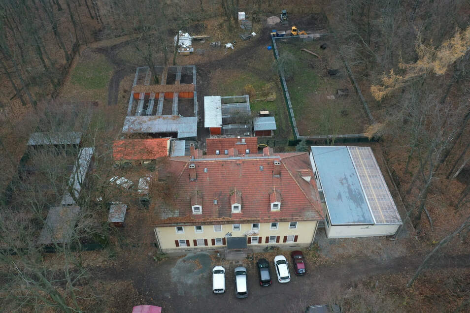 Das Freitaler Tierheim auf dem Windberg ist bald in Vereinsbesitz.