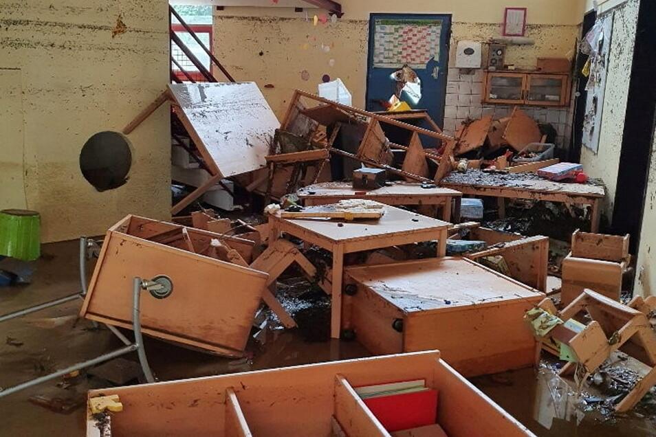 Ein Blick ins Innere des Kindergartens in Bad Neuenahr-Ahrweiler.