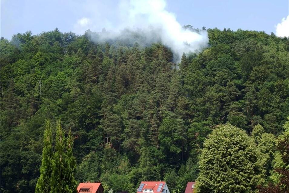 Noch ist die Lage im Brandgebiet nicht ganz klar.