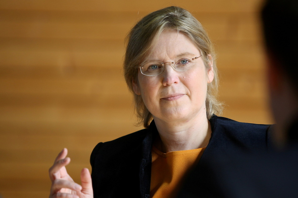 """CDU-Direktkandidatin Corinna Franke-Wöller: """"Ich wünsche allen Politikern für die Region und für Sachsen ein gutes und kluges Händchen."""""""