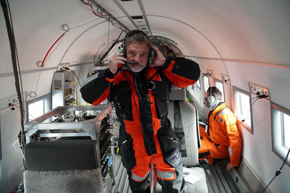 Mit im Team SZ-Redakteur Stephan Schön.