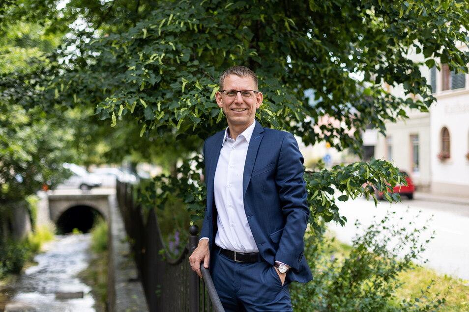 Markus Dreßler ist seit 2004 in der Region als Bürgermeister tätig. Der gebürtige Freitaler begann in Reinhardtsgrimma und wechselte 2008 nach Glashütte. Nun geht er nach Pirna.
