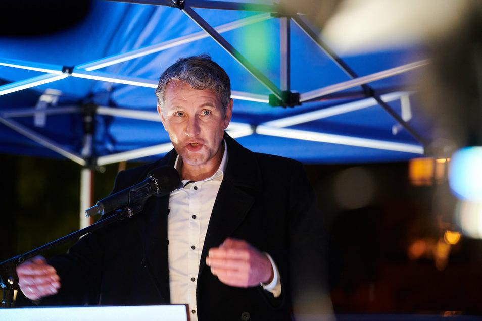 Björn Höcke, Vorsitzender der AfD Thüringen, wurde nicht in eine Landtagsfraktion gewählt.