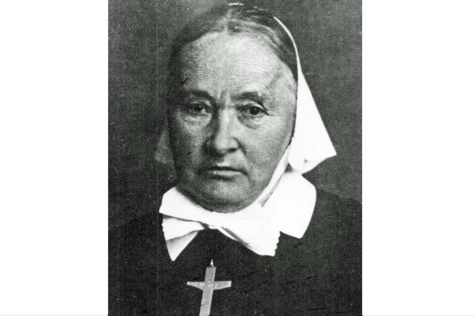 Schwester Johanna Schulte war die erste Oberin. Sie prägte die Diakonissenschaft bis zu ihrem Ruhestand im Jahr 1936.