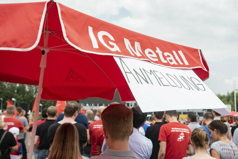Die IG Metall konnte in Ostsachsen 2020 einen Mitgliederzuwachs erzielen.