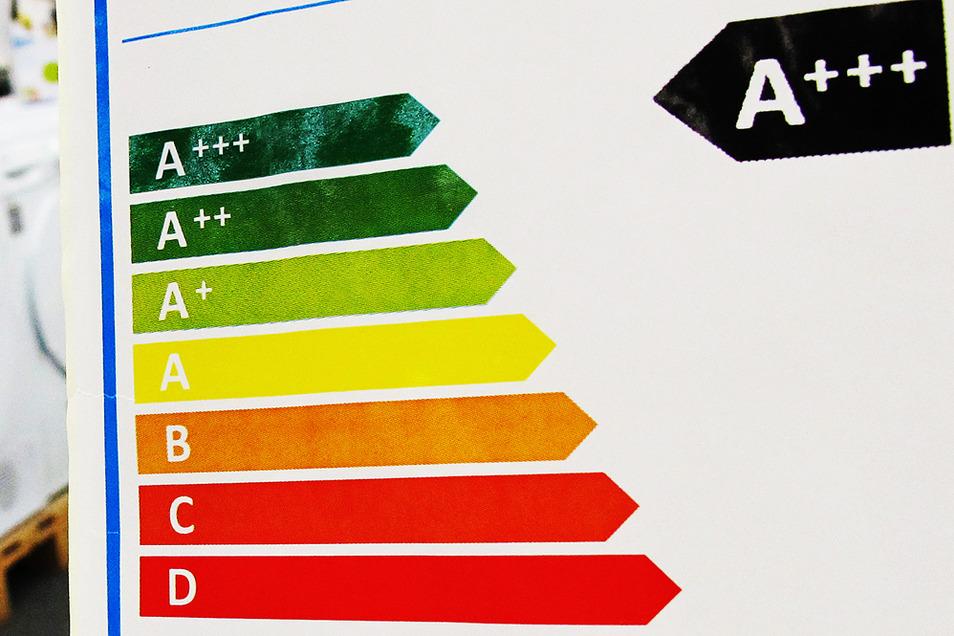 Die bisher geltenden Energieeffizienzklassen.