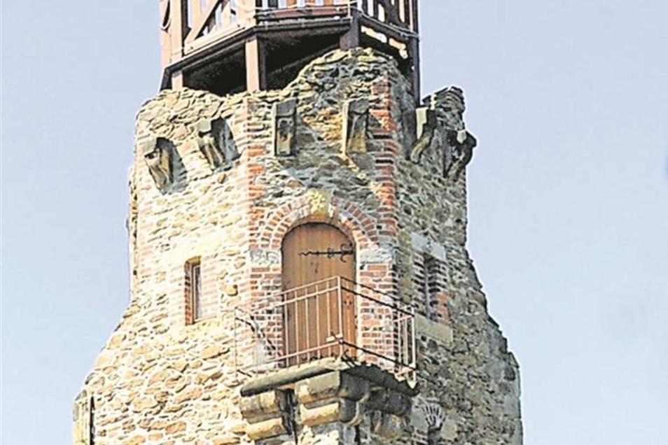Großenhain: Kupferberg-Aussichtsturm