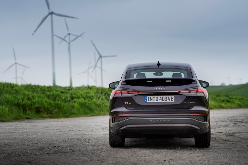 Der neue Audi Q4 e-tron wird im VW-Werk im Zwickauer Ortsteil Mosel gebaut