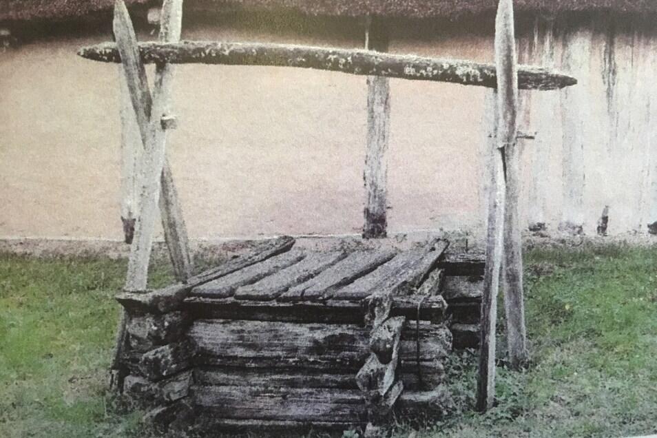 Auch ein solcher Brunnen aus der Bronzezeit könnte in Gävernitz zur Veranschaulichung aufgebaut werden.