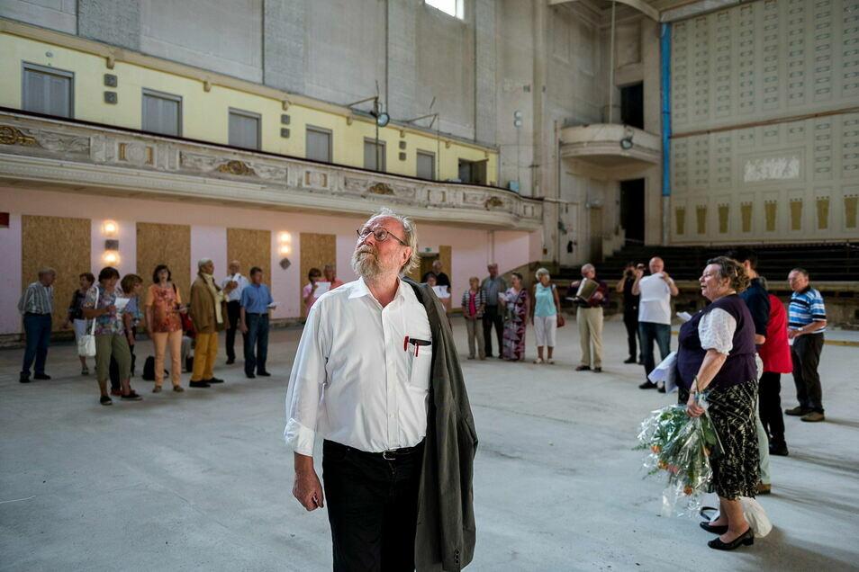 Der frühere Bundestagspräsident Wolfgang Thierse war seit 2017 Mitglied des Kuratoriums der Stadthallenstiftung. Jetzt trat er wegen eines AfD-Mannes im selben Gremium aus.