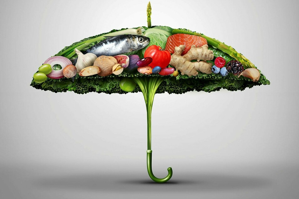Die einfachste Abwehr: Mehr gesunde Lebensmittel.