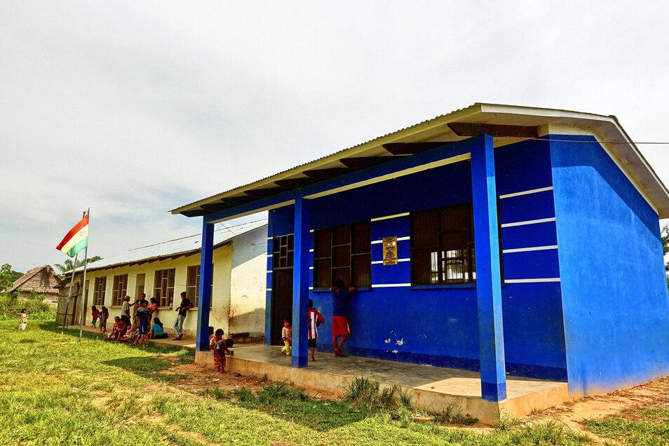 Eine Dorfschule im Örtchen Alto Colorado.