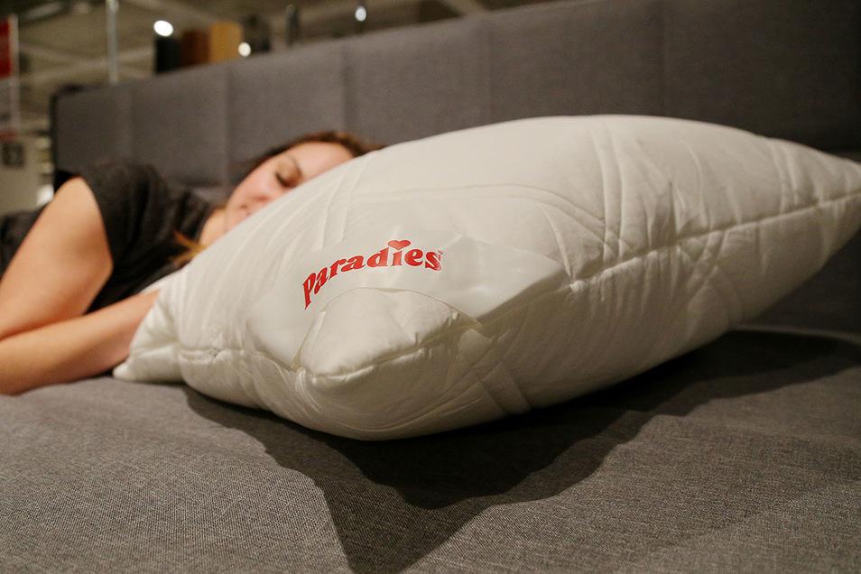 Paradiesisch ruhen – das Softy-Kosmo Plus macht es möglich.