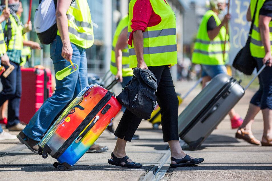 Die Mitarbeiter der Tourismusbranche fordern Hilfe vom Staat.