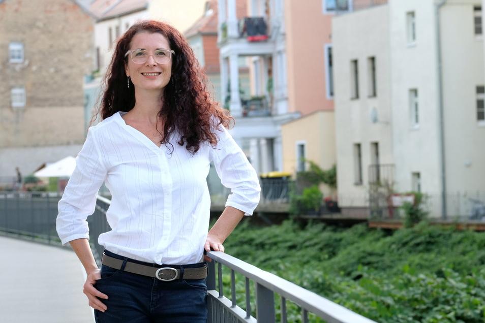 Die aus Nossen stammende Karin Beese bewirbt sich für die Bündnisgrünen bei den anstehenden Bundestagswahlen um ein Direktmandat im Wahlkreis 155 (Meißen).