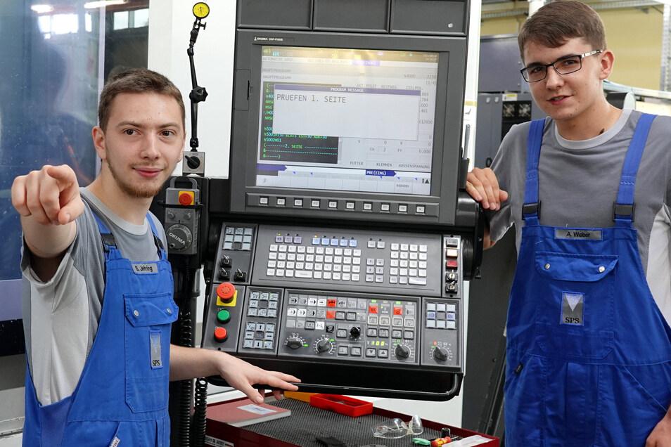 Wissen wie es geht: Sebastian Jehring (l.) und Anton Weber.
