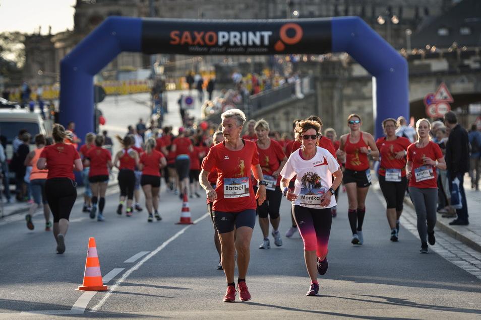Am Sonnabend findet in Dresden der neunte Frauenlauf statt.