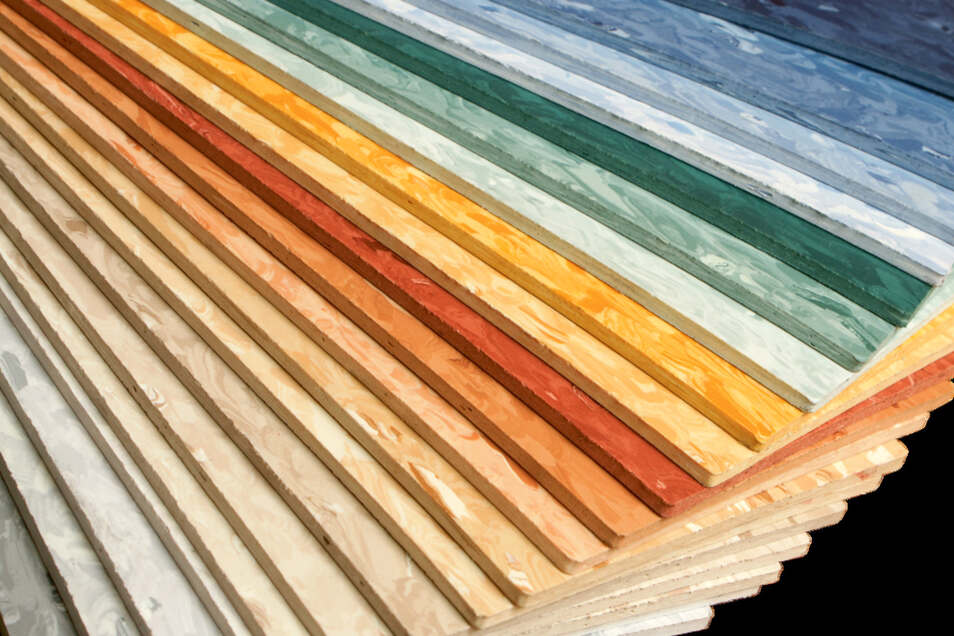 Linoleum gibt es in allen erdenklichen Farben und Formen.