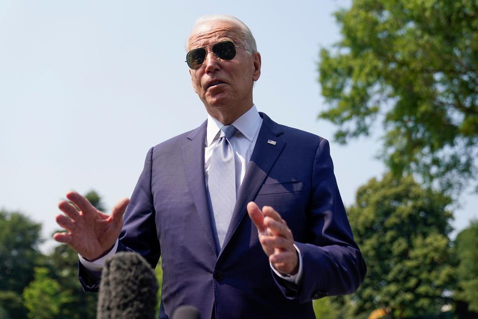 """Joe Biden, Präsident der USA, hält eine Machtübernahme der Islamisten in Afghanistan für """"nicht unausweichlich""""."""