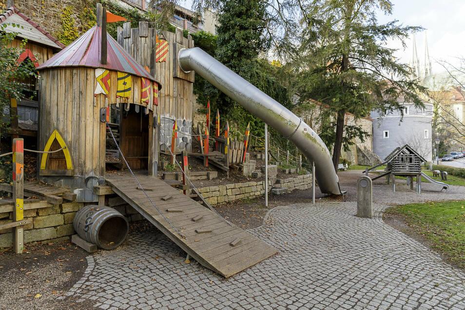 Spielplatz an der Uferstraße in Görlitz.