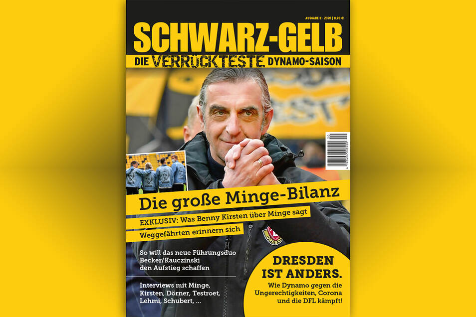T. Meyer, S. Geisler, D. Klein: Schwarz-Gelb. Die verrückteste Dynamo-Saison. Magazin. 140 Seiten. 8,90 €. Verlag: DDV-Lokal; online: www.ddv-lokal.de