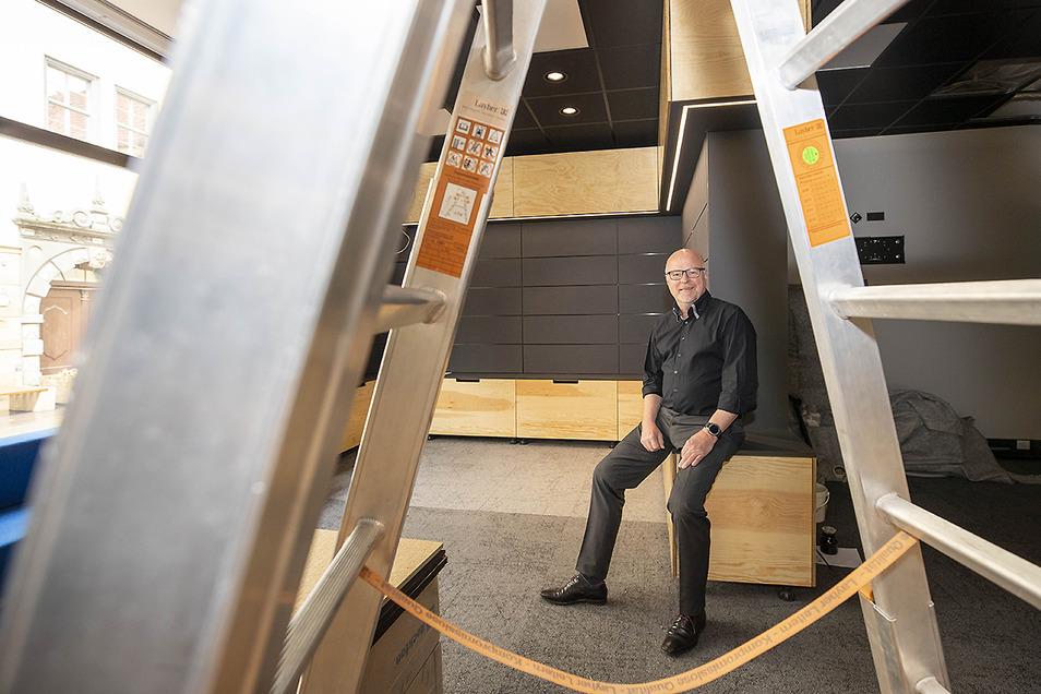 Jörg Seidel ist Geschäftsführer der DDV Sächsische Schweiz-Osterzgebirge GmbH. Die Gesellschaft eröffnet in der Dohnaischen Straße in Pirna ein neues Lokal.