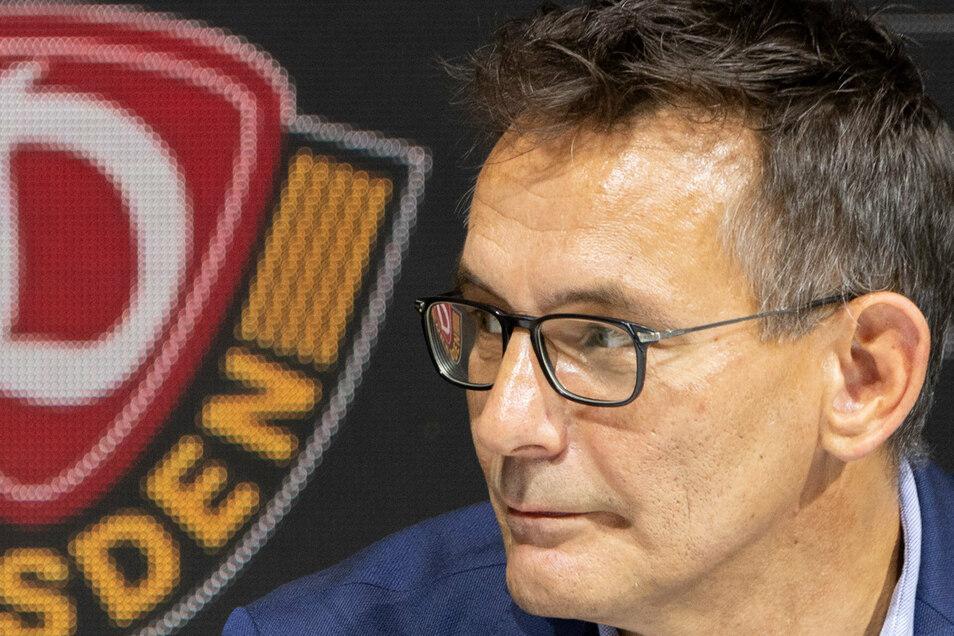 Dynamos kaufmännischer Geschäftsführer Michael Born