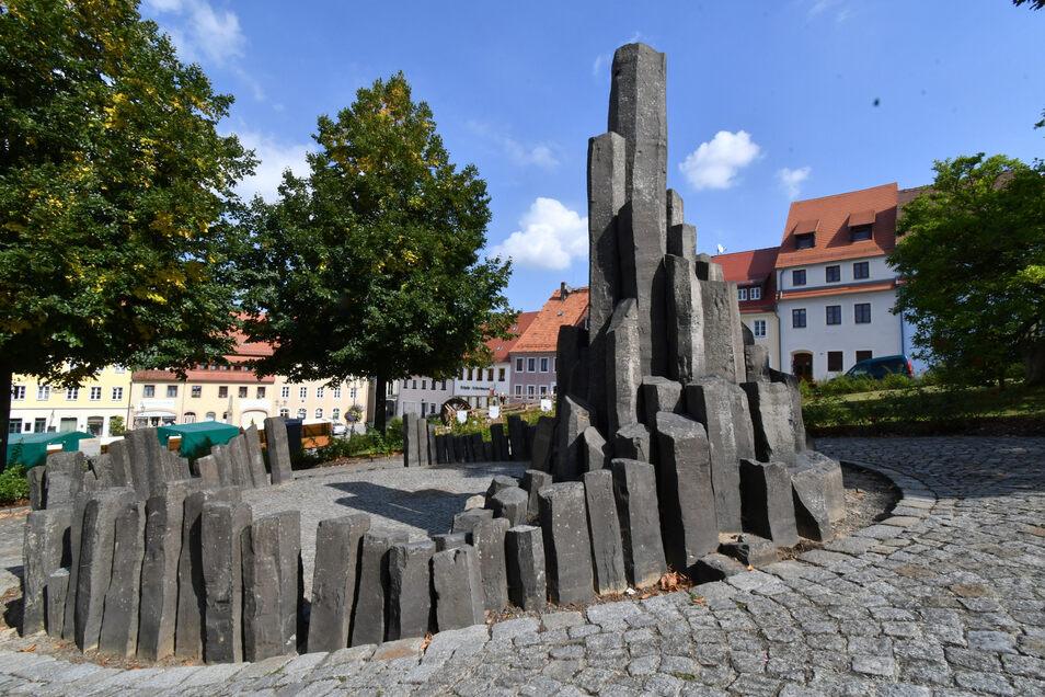 Die Basaltsäulen – ein Markenzeichen der Stadt Stolpen. Doch es ist kein reiner Basalt. Zu dem Schluss kamen unlängst Wissenschaftler.