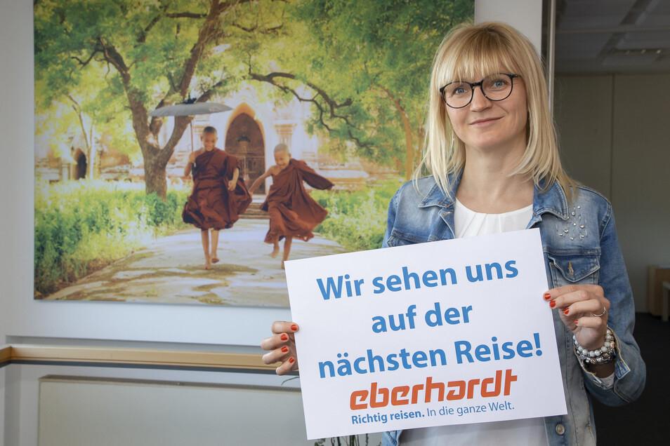 Die Diplom-Betriebswirtin Sylvia Lorenz arbeitet als Prokuristin beim Reiseveranstalter Eberhardt Travel in Kesselsdorf.