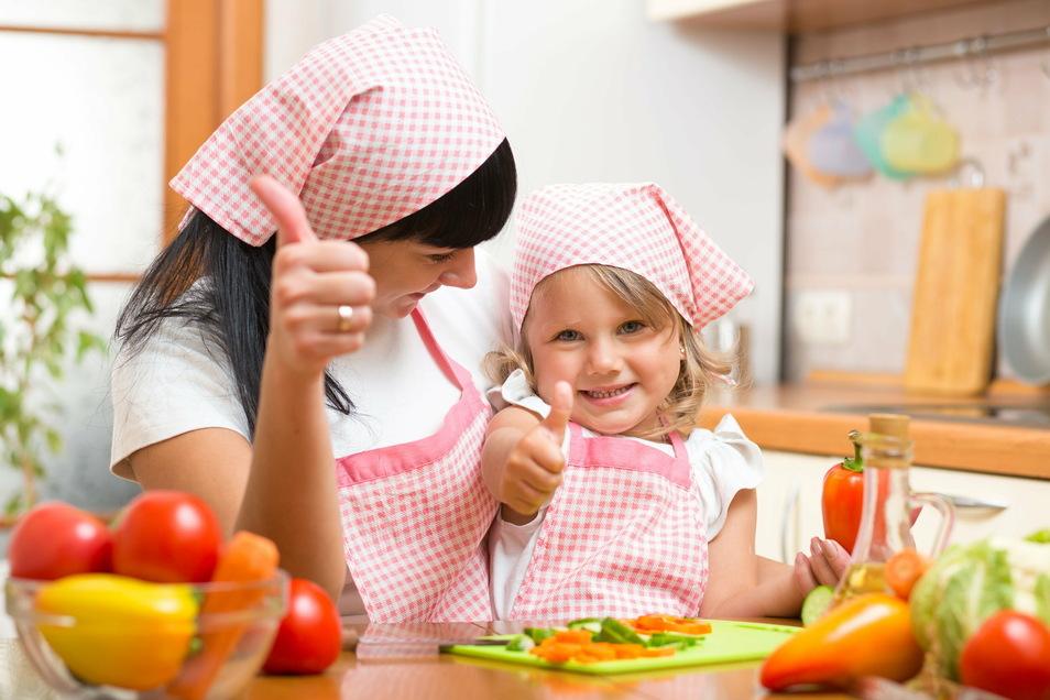 Gemüse ist lecker. Je eher man das weiß, desto besser.