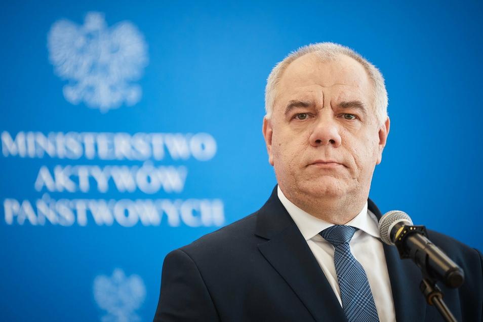 Polens stellvertretender Regierungschef Jacek Sasin liegt mit einer Coronainfektion im Krankenhaus,