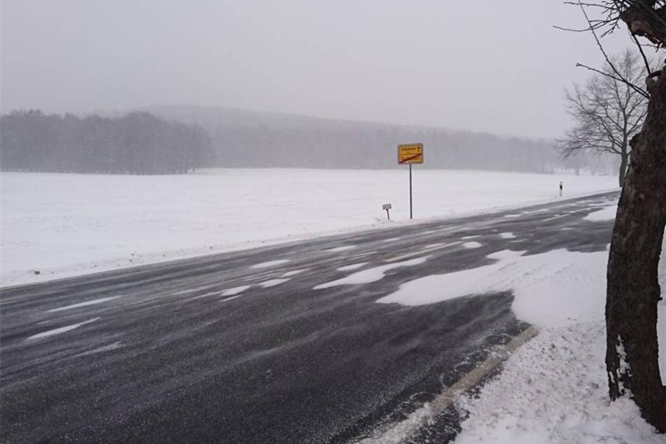 Winter-Romantik in und um Taschendorf.