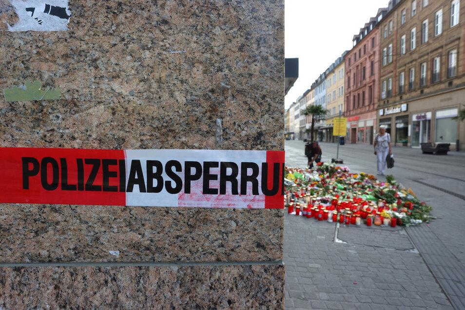 Bei einem Angriff am 25. Juni in Würzburg hatte ein Somalier drei Frauen in einem Kaufhaus getötet und dann mehrere Menschen schwer verletzt.