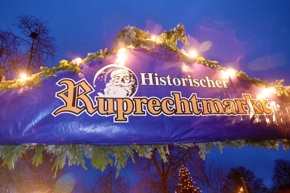 Der historische Ruprechtmarkt wird dieses Jahr nicht veranstaltet.