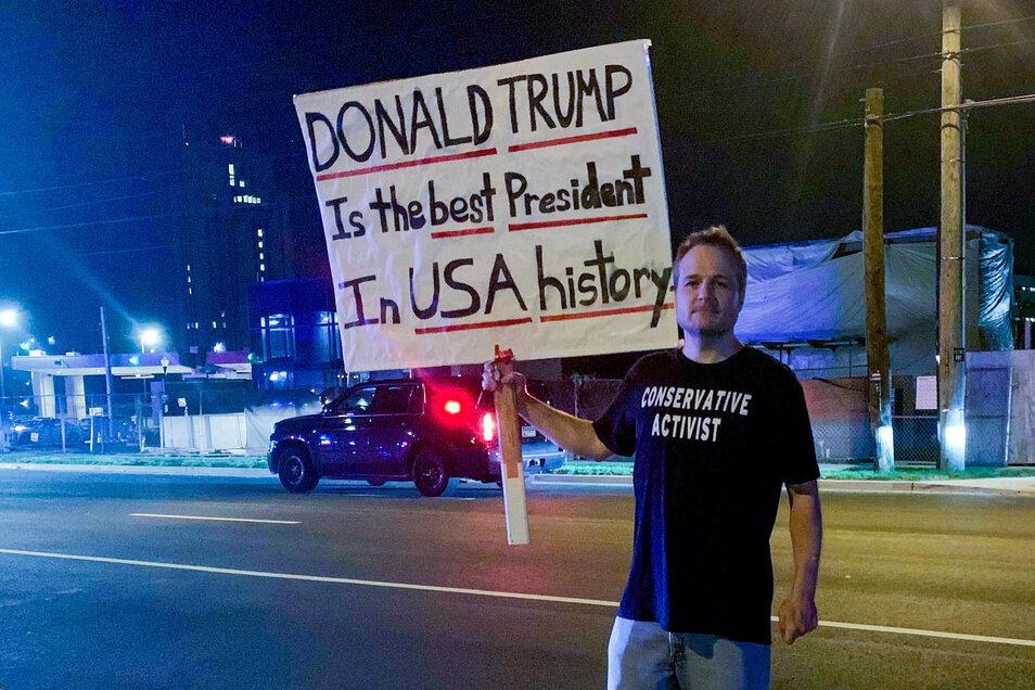 """Für John Maxwell ist Donald Trump """"der beste Präsident in der Geschichte der USA""""."""