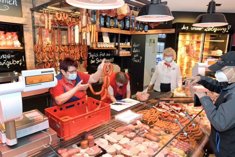 Seit Donnerstag hat die Fleischerei Weber wieder geöffnet.
