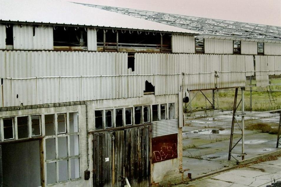 Die ehemalige LPG-Halle kaufte der Verein 2007. Sie war in einem desolaten Zustand.