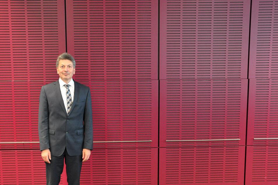 Meißens Landrat Arndt Steinbach  will sich in diesen Tagen mit den neu gewählten Kreisräten treffen.