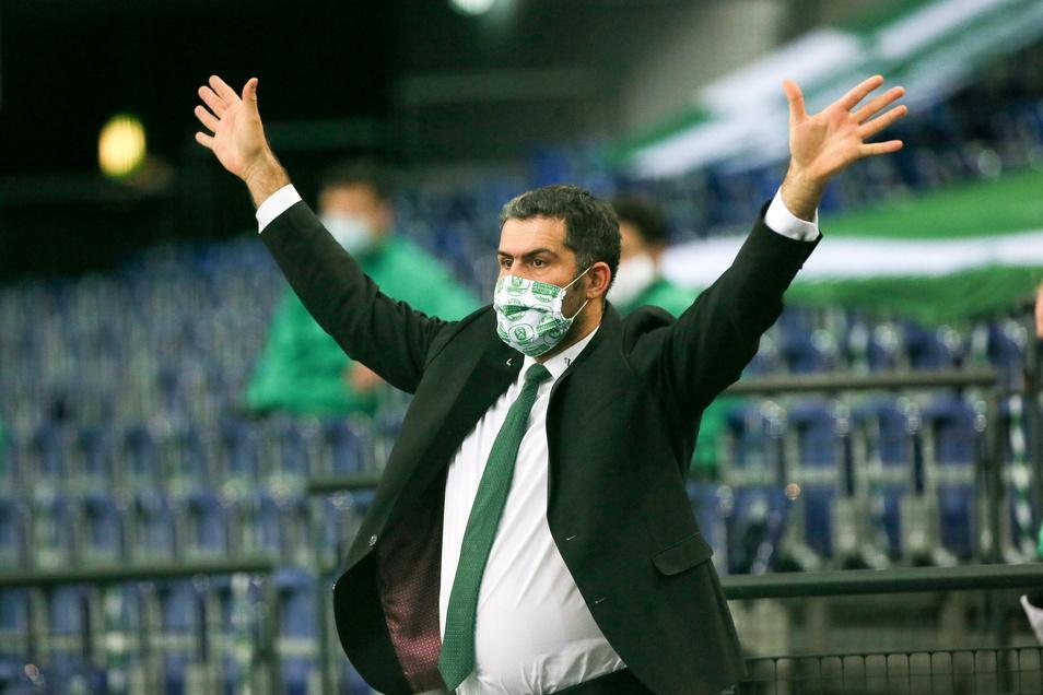 Ernüchtert sei er und inzwischen auch einigermaßen ratlos, sagt DHfK-Manager Karsten Günther.