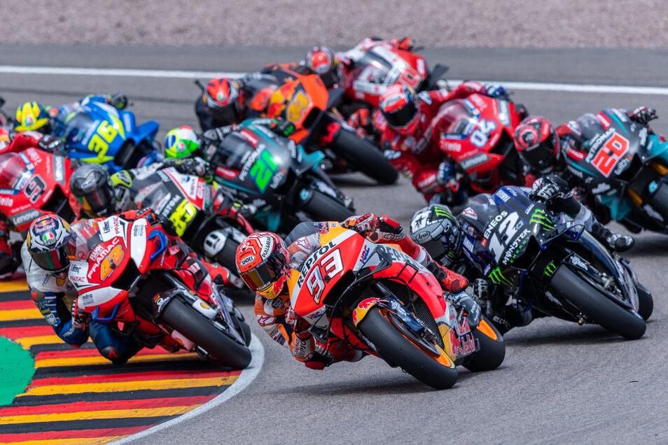 Der Motorrad-Grand Prix auf dem Sachsenring ist die zuschauerträchtigste Sportveranstaltung in Deutschland - und für die Region deshalb vor allem auch wirtschaftlich bedeutet.