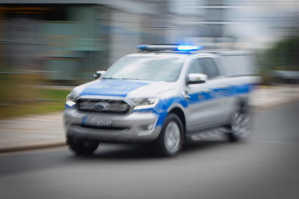 Ein Kleintransporter hatte am Autobahnkreuz Dresden-West gestohlene Fahrräder geladen.