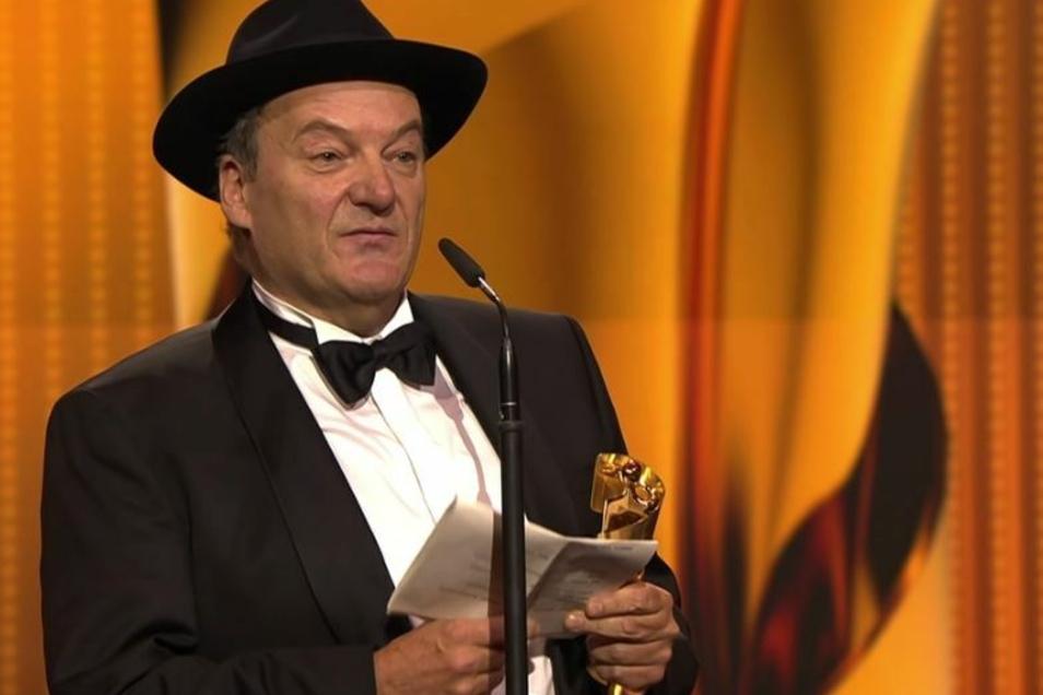 Hanno Lentz wurde für die beste Kamera ausgezeichnet. Seine Dankesrede hatte auch kritische Töne.
