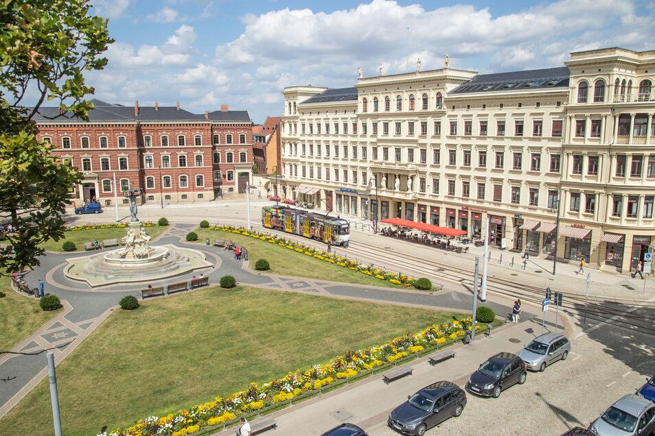 Das Gericht (linker Hand) in Görlitz: Eine Referendarausbildung wird es hier ab kommenden Jahr nun doch nicht geben.