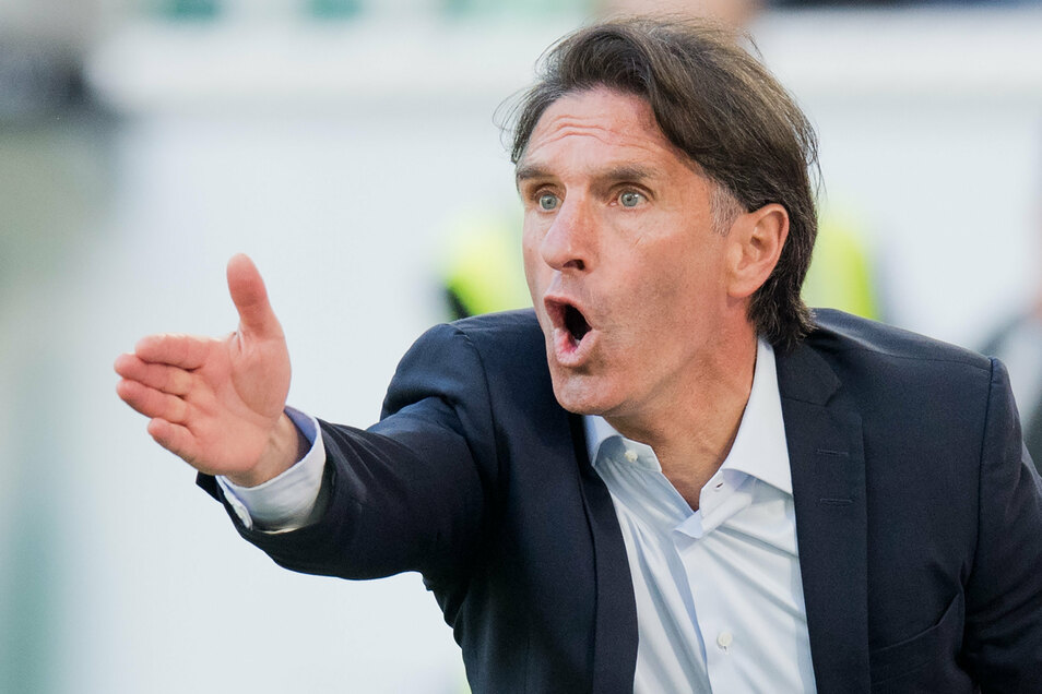 Bruno Labbadia steht vor der Entlassung bei Hertha BSC.