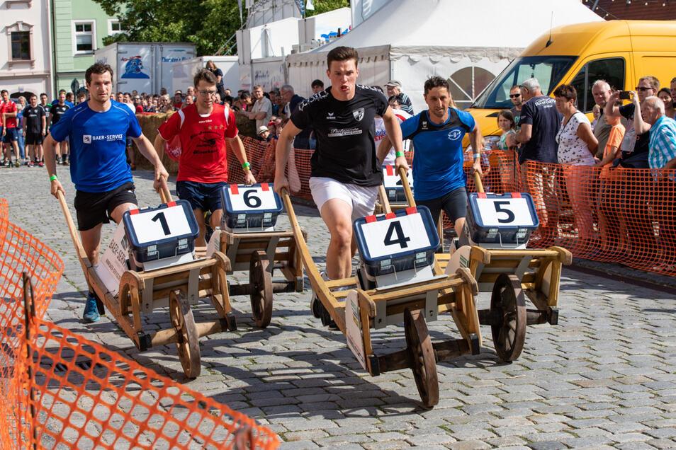 Der Kampf um den Weltmeistertitel darf beim Bischofswerdaer Stadtfest nicht fehlen.