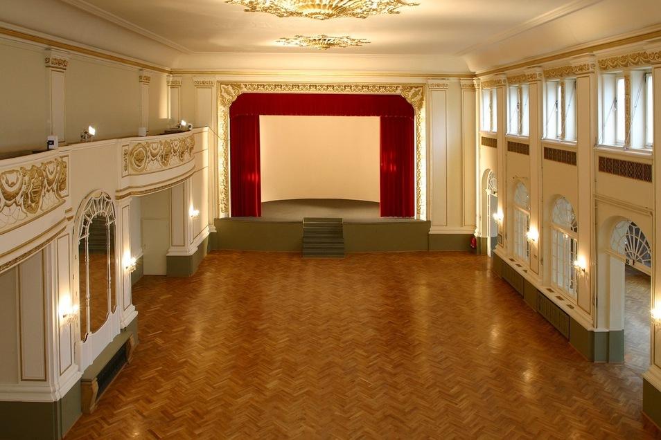 Der Ballsaal im Parkhotel steht seit acht Wochen leer.