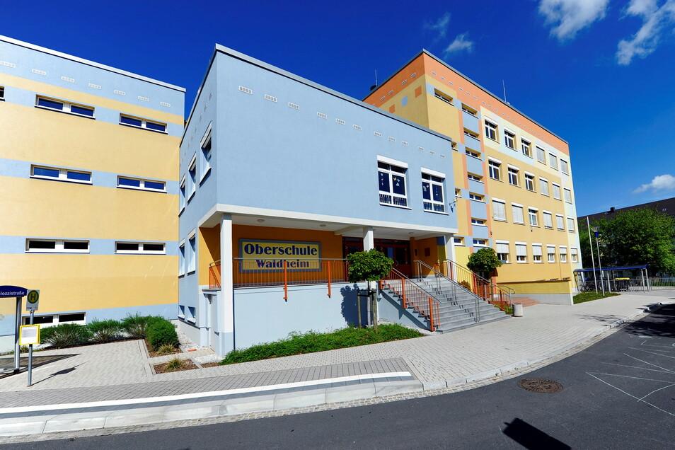 In der Waldheimer Oberschule (Foto) und in der Förderschule sind zur Umsetzung des Digitalpaktes Schulen Bauarbeiten erforderlich.