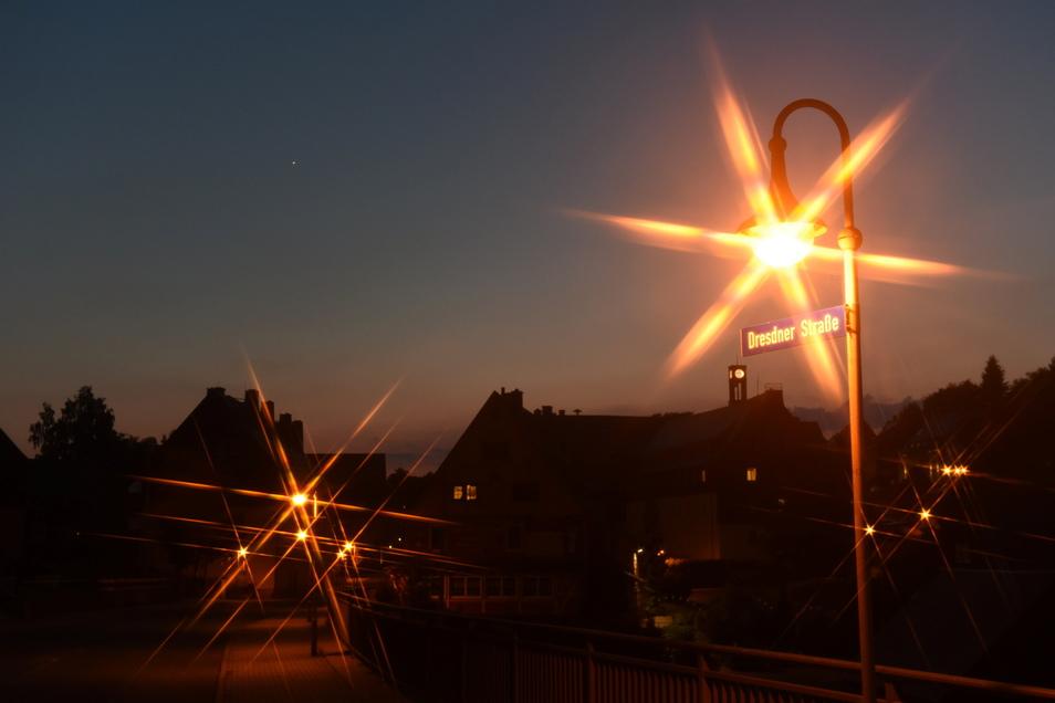 Aktuell dauert es lange, bis ausgefallene Straßenbeleuchtung in der Kommune Altenberg repariert wird.