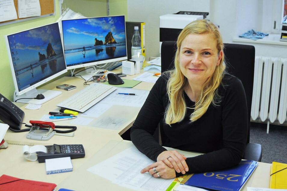 Mandy Hirth ist seit 1. November in der Stadtverwaltung Lommatzsch tätig.